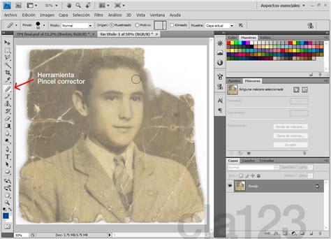 reparar imagenes jpg corruptas reparar una foto vieja tutorial de photoshop taringa