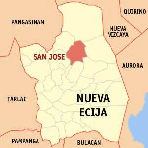 san jose nueva ecija map tabulac san jose city nueva ecija philippines