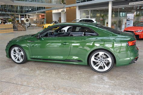 2018 audi rs5 coupe in sonoma green spotted at audi forum