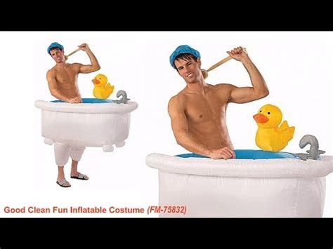 bathtub costume walking bathtub inflatable costume youtube