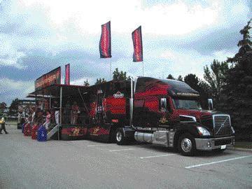 volvo trucks canada hosts budweiser big rig truck news