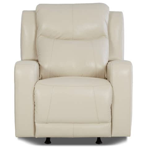 recliners with adjustable lumbar support klaussner barnett power rocking recliner with power