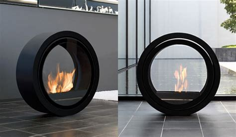 Conmoto Fireplace by Conmoto Rolling Fireplace Lets Every Room Become A 9 Alarm