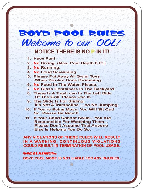 journal design safety swimming pool health and safety rules bpyf design on vine