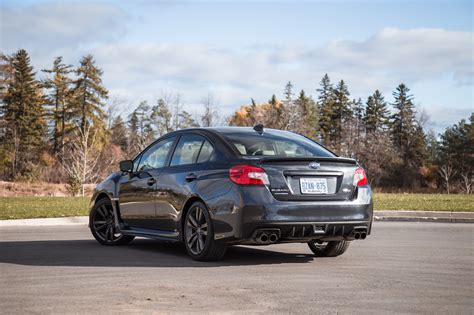 subaru wrx sport review 2017 subaru wrx sport tech cvt canadian auto review