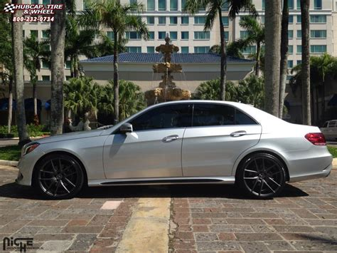 mercedes e350 niche targa m129 wheels anthracite