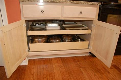 kitchen cabinets with drawers that roll out roll out pantry shelves with a center stile removal