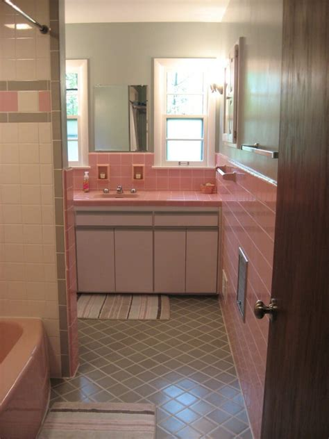 images of pink bathrooms historic photos of valerie s 1954 milwaukee home and her pink bathroom retro