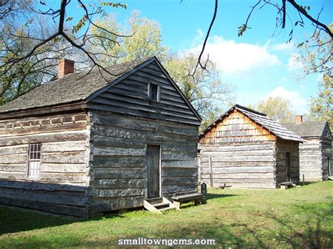 Hoosier Rustic Cabins by Log Cabin In New Harmony Indiana Hoosier Homeland