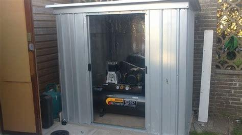 compressor shed build mig welding forum