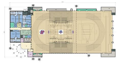 facility floor plan shenandoah university athletic center athletic and