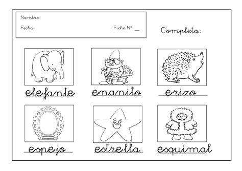 imagenes de animales por la letra e grafomotricidad trabajar la letra e