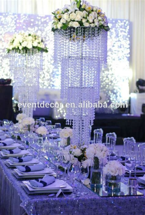 large chandelier centerpieces for weddings table