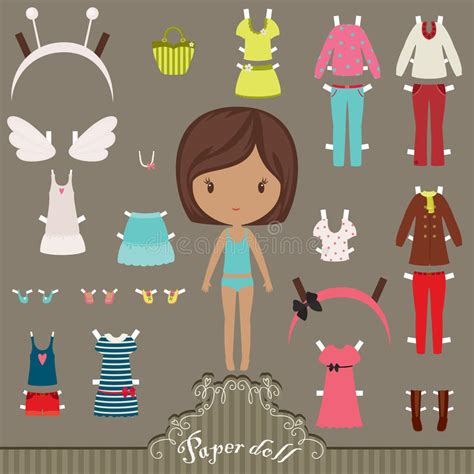 Paper Doll Outfits Stock Photo Image 36574600 | paper doll outfits stock photo image 36574600