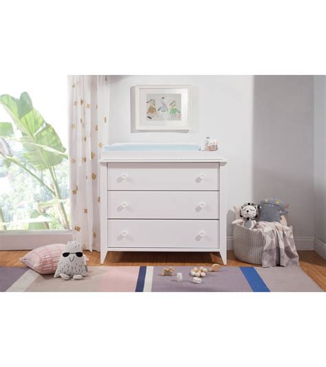 Babyletto 4 Drawer Dresser by Babyletto Sprout 3 Drawer Changer Dresser Kd White Finish