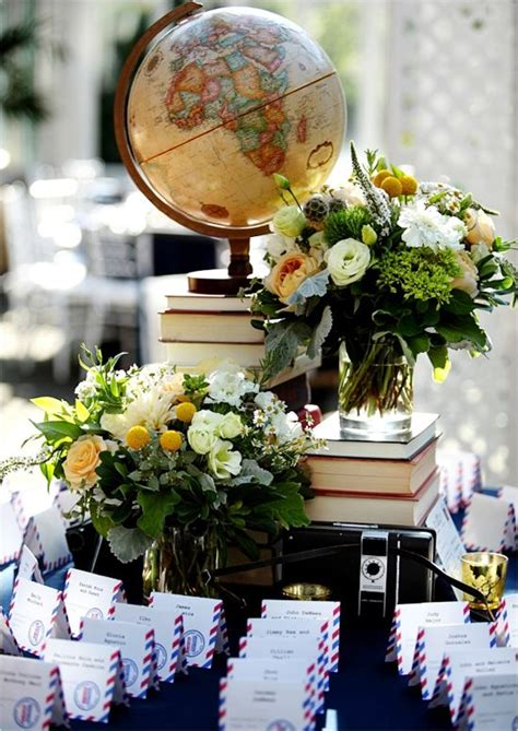 globe centerpieces 25 best ideas about travel centerpieces on travel themes travel and travel