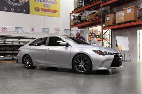 Toyota Camry Sleeper Toyota Sleeper Camry Debuts At Sema Is True To Its Name