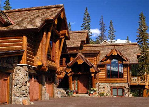 Rustic Log House Plans Exterior Photos Of Log Homes And Timber Homes
