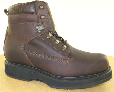 Mens Dress Shoes 6e Width by Hitchcock Mens Boots Style 298 Brown New 3e 5e 6e Wide Ebay