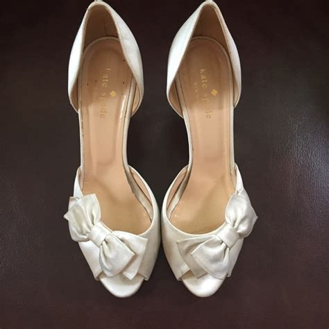 77% off kate spade Shoes - Kate Spade wedding shoes from ... White Gucci Shoes For Men
