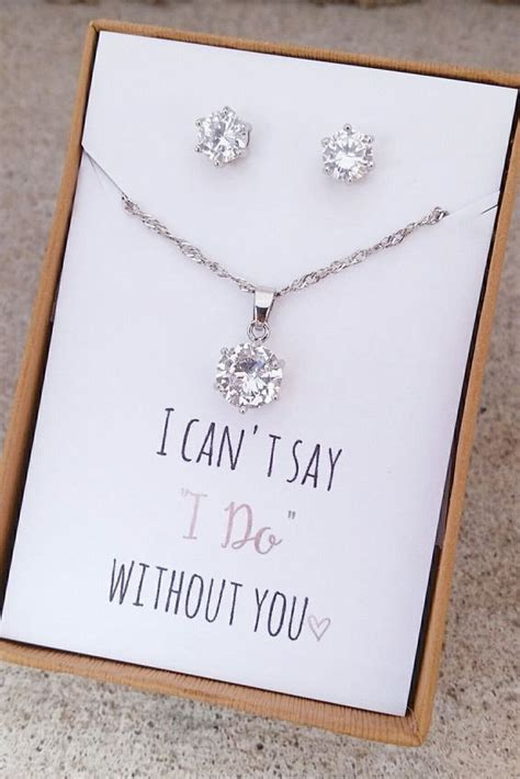 Wedding Gift Jewelry Ideas by Unique Bridesmaid Gifts To Show Your Bffs How Much You Care
