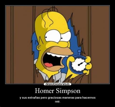 imagenes insolitas de los simpson homer simpson desmotivaciones