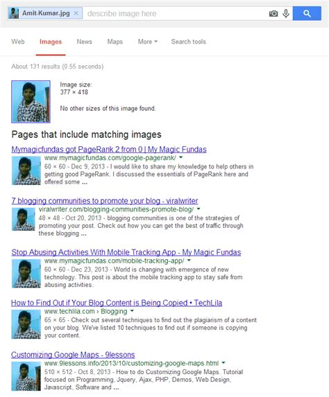 How To Find Through Image Search How To Identify Your Photograph Being Used Somewhere How To