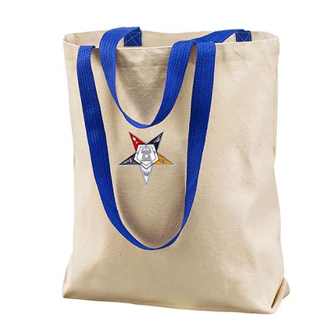 Embroidered Canvas Tote Bag custom embroidered cotton canvas tote