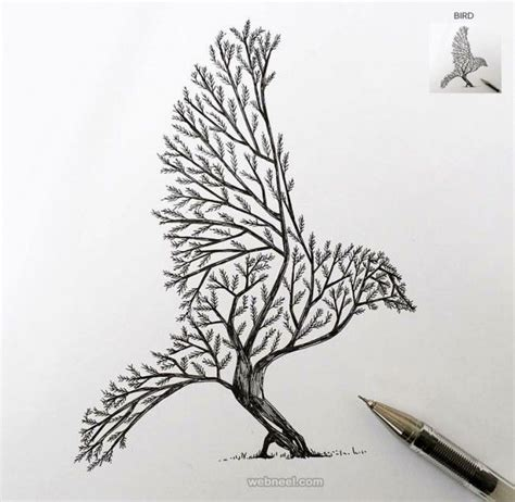 Drawing Trees by 30 Beautiful Tree Drawings And Creative Ideas From Top