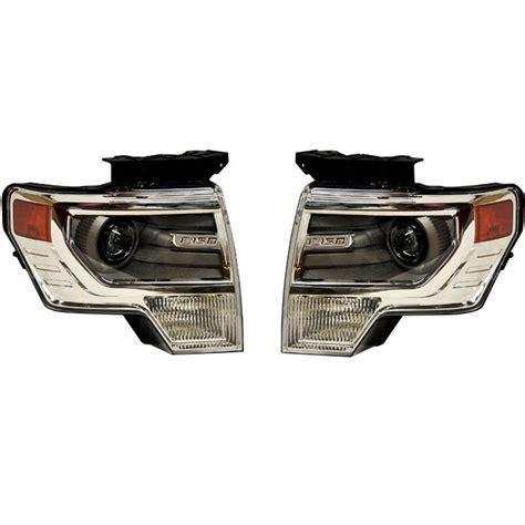 Lu Hid Projector Motor 2009 2014 f150 ford oem bi xenon hid projector headlights