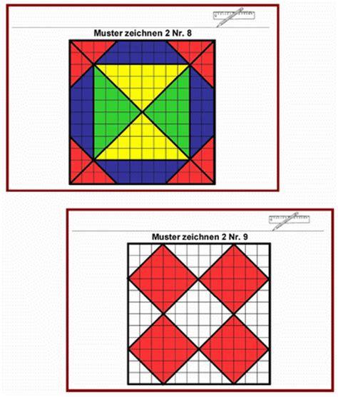 Muster Zeichnen Geometrie Kartei Muster Zeichnen Lernbiene Verlag