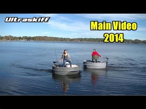 round boat youtube ultraskiff 360 round boat round watercraft main promo