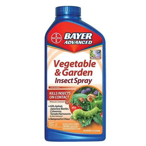Bayer Advanced Vegetable Garden Insect Spray All Bug Spray For Vegetable Garden