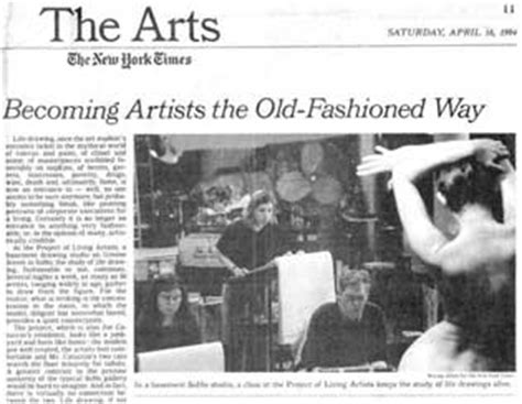 ny times art section project of living new york artists doing their thing on