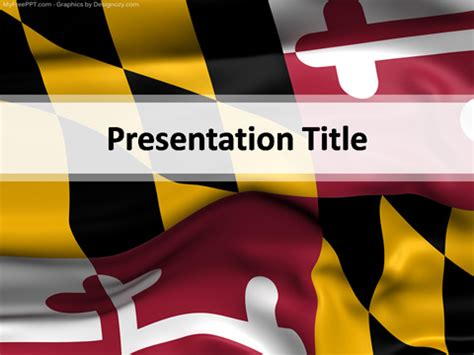 maryland will template maryland powerpoint template free powerpoint ppt