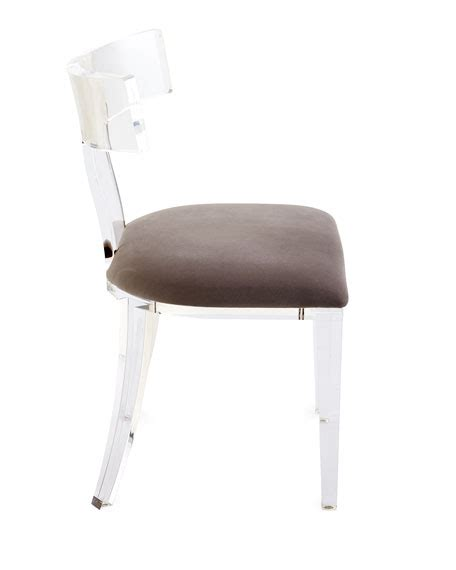 acrylic dining chairs with wood table bernhardt inlay dining table nessy acrylic dining