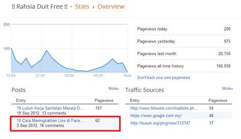 membuat iklan percuma rahsia duit free promosi fanpage anda secara percuma