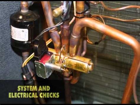 heat pumps checking reversing valves sample youtube