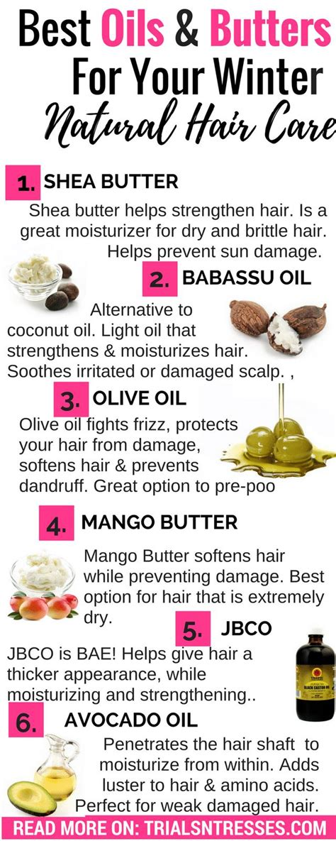 best oils and butters for winter natural hair care continue reading best oils and butters for winter natural hair care