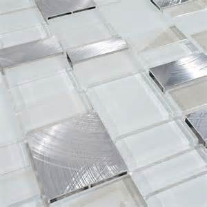 Metal Wall Tiles Kitchen Backsplash Metal Glass Tile Bathroom Wall Backsplash Stainless Steel Tiles Mg007