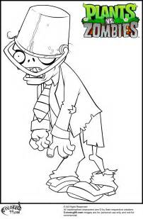 plants zombies zombie coloring coloring pages