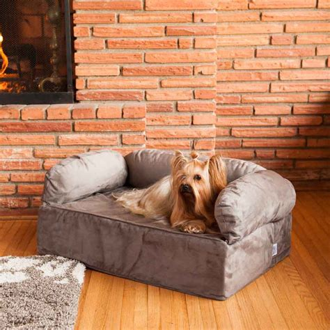 dog settee sofa snoozer luxury dog sofa dog couch microsuede fabric