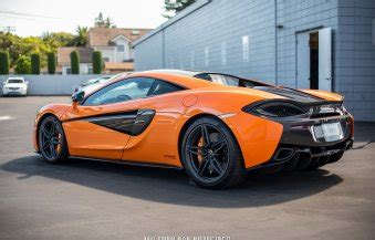 orange mclaren rear gallery ventura orange mclaren 570s sssupersports com