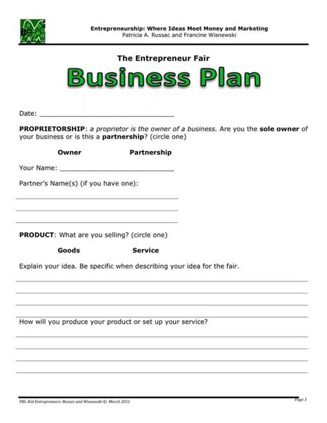 free template for business plan blank business plan template word anuvrat info