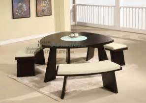 Triangle Dining Table With Benches » Home Design 2017