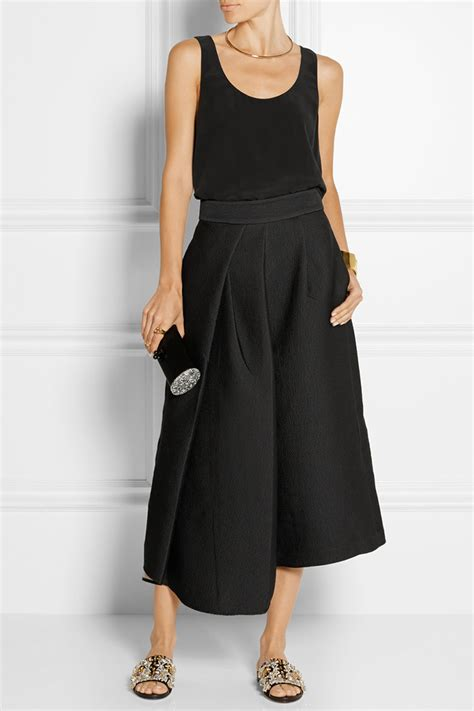 2 wear to work culottes and midi skirt