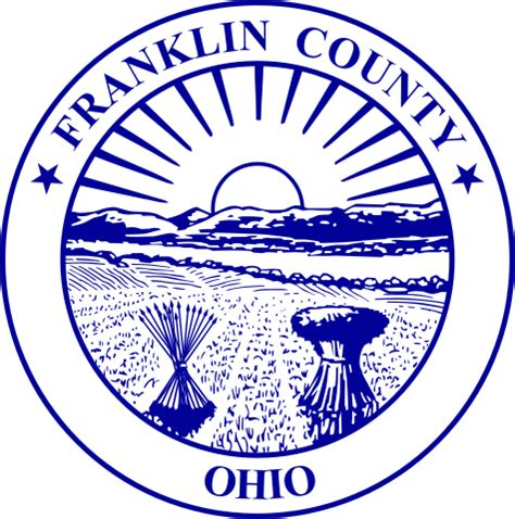 Franklin County Oh Search File Seal Of Franklin County Ohio Svg Wikimedia Commons