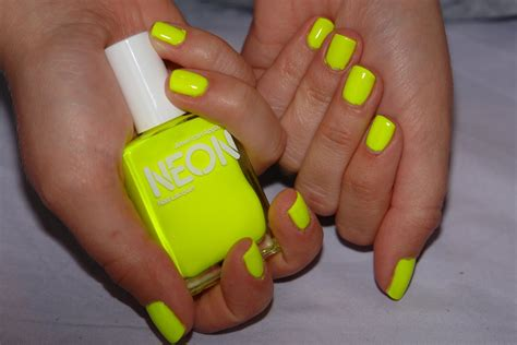 Neon Nail by Image Gallery Neon Yellow Nails