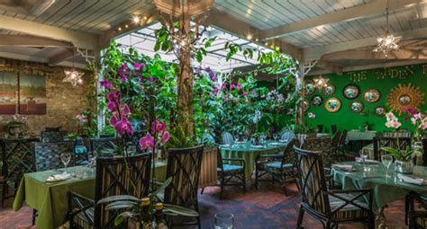 Dining Room Covers The George Of Stamford The Garden Room Restaurant