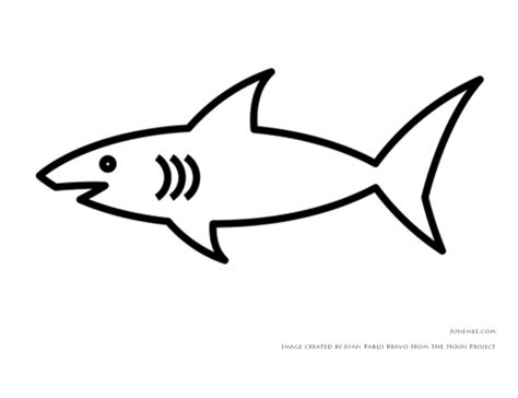 shark template templates pinterest sharks and templates